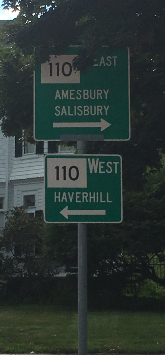 Haverhill Street sign