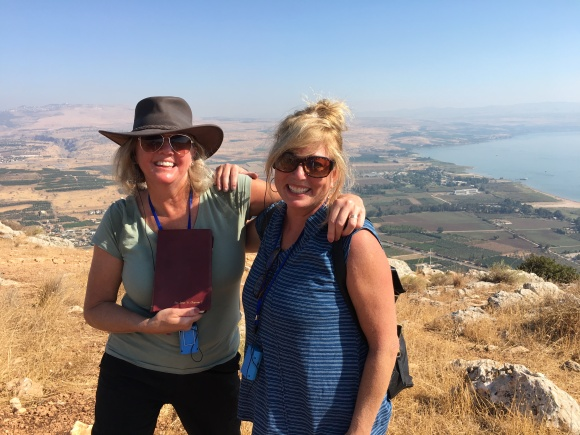 sea of Galilee laurie and lisa
