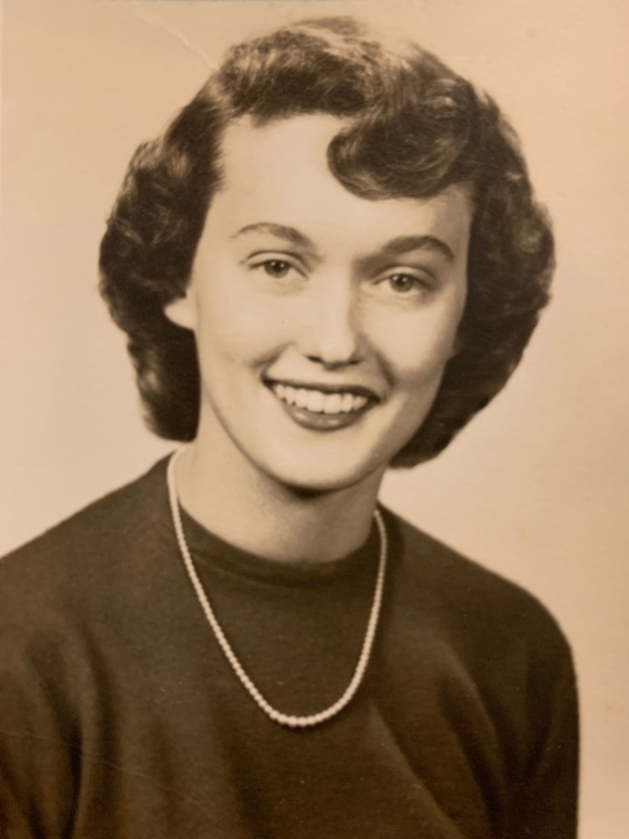 mom's hs pic