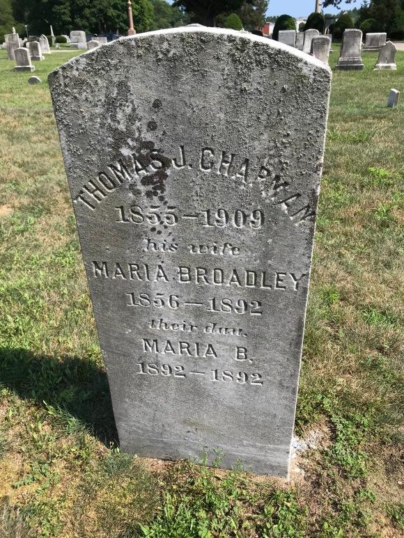 Tombstone--Chapman