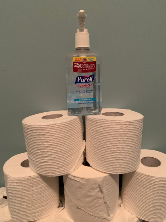 TP and purell