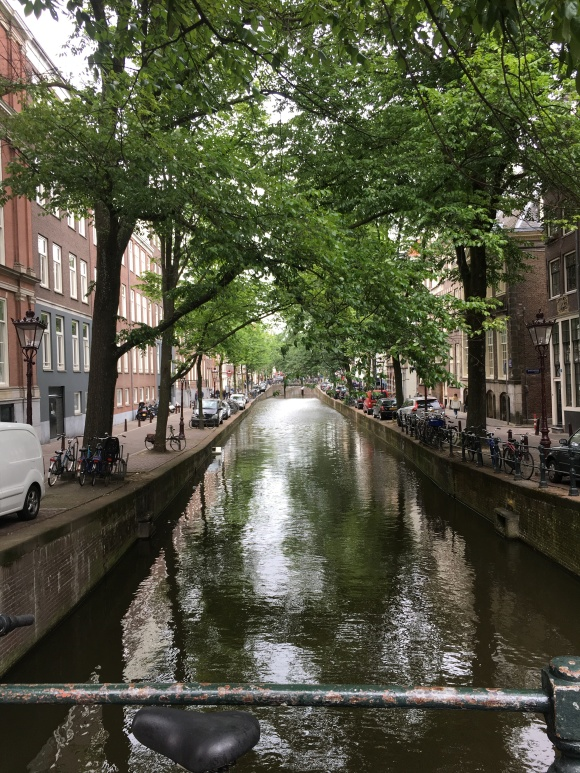 amsterdam canal shot