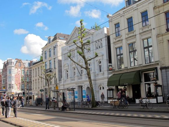 amsterdam jewish theater street