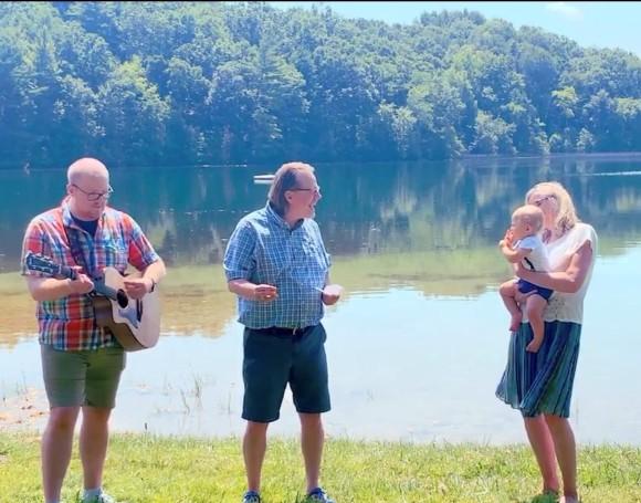 Levi baptism singing